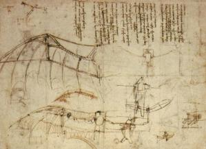 Leonardo Flying Machine2