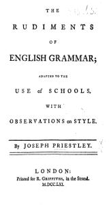 Rudiments of English Grammar - Priestly