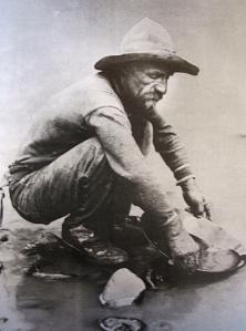 Gold prospector 1850 California