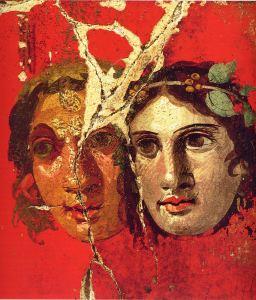 Greek Drama Masks - Pompeii