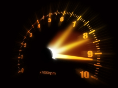 Speedometer - precision teaching (Shutterstock)