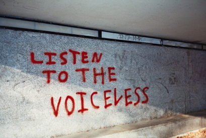 Graffiti - listen to the voiceless