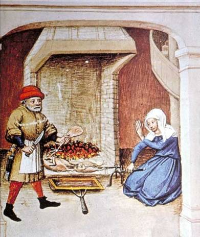 Decameron_1432-cooking_on_spit.jpg (Wikipedia)