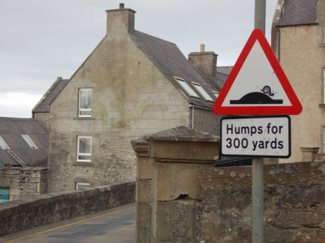 Humps for 300 yards