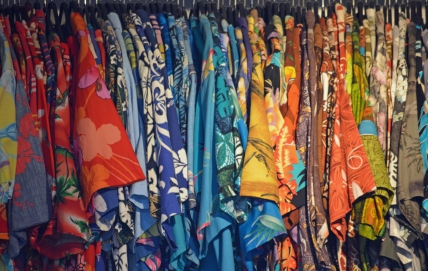 Row Hawaiian Shirts (Flickr)