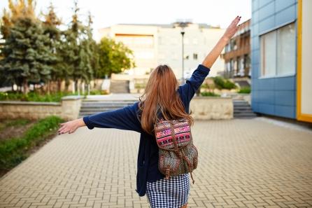 Girl celebrating (Shutterstock)
