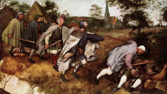 Breughel parable of the blind