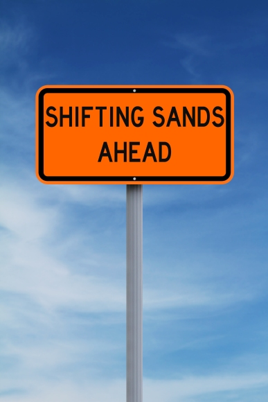 Shifting Sands (Shutterstock)