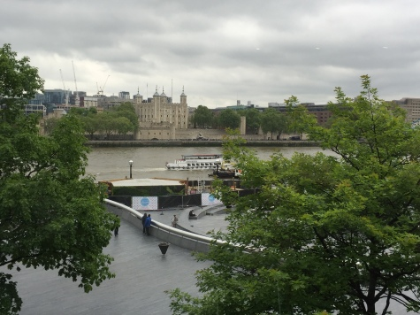 Tower and Thames riverboat